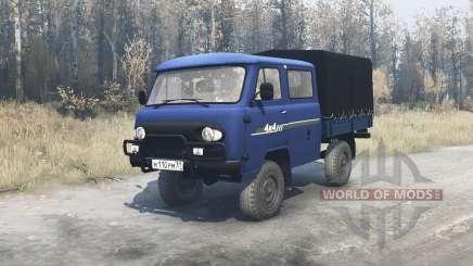 UAZ 39094 Farmer for MudRunner