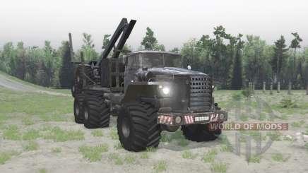 The Polar Ural 4320-41 for Spin Tires