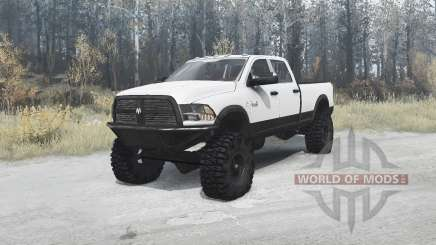 Dodge Ram 3500 Crew Cab 2012 for MudRunner