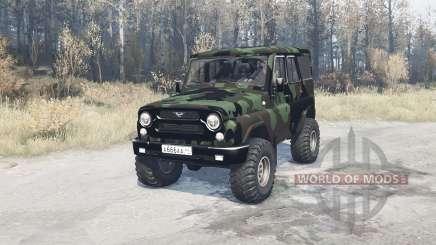 UAZ hunter (315195) expedition for MudRunner