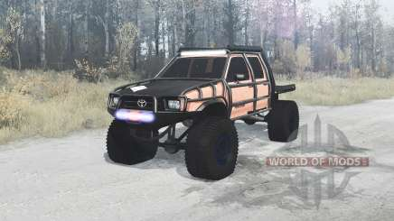 Toyota Hilux Double Cab 1996 extreme for MudRunner
