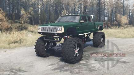 Jeep Comanche monster for MudRunner