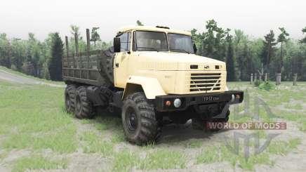 KrAZ 63221 for Spin Tires