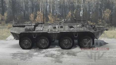 BTR-80 (GAZ 5903) for Spintires MudRunner