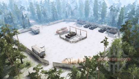 The maximum size for Spintires MudRunner