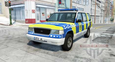 Gavril Roamer spanish police v3.7 for BeamNG Drive