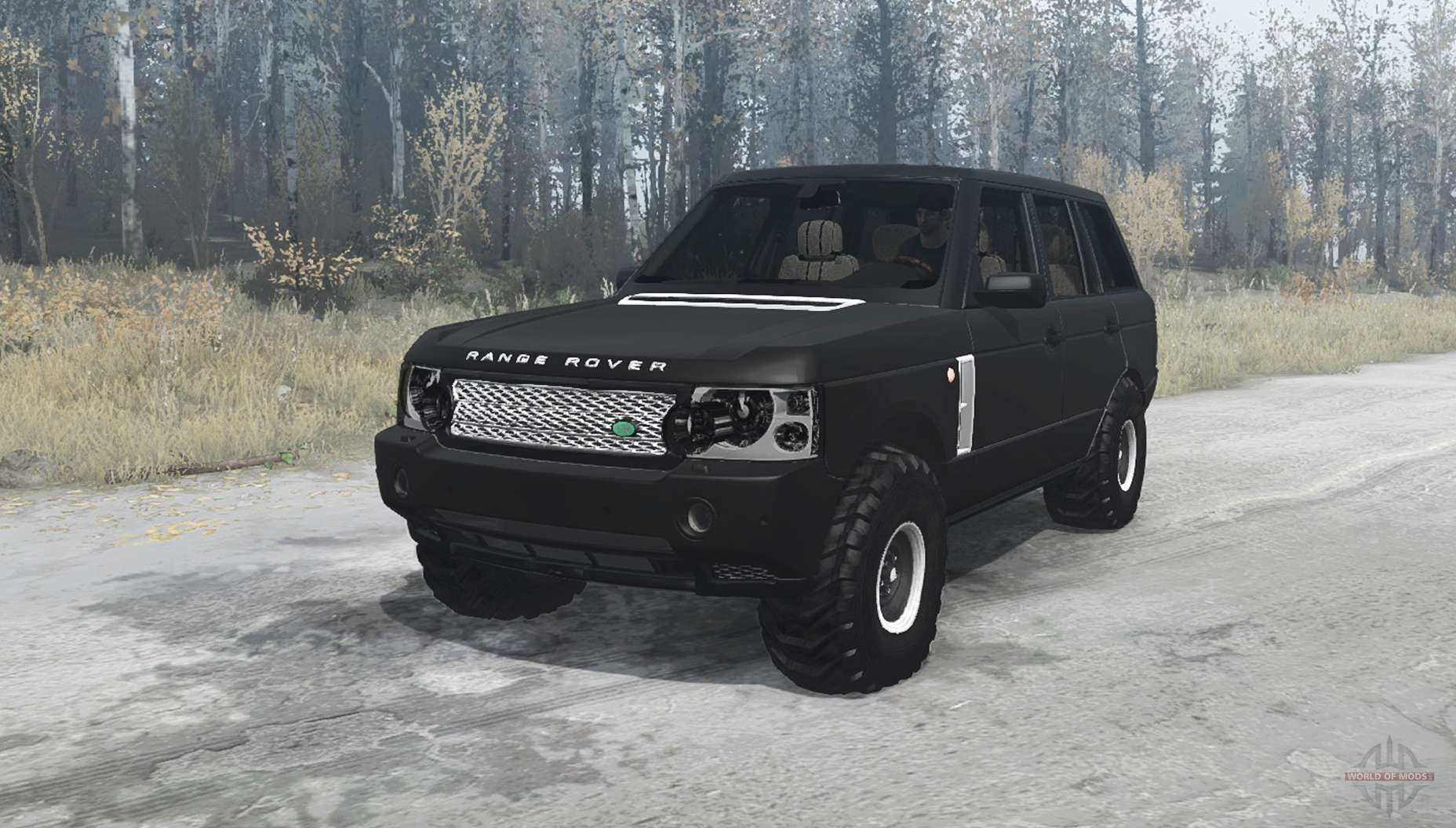 land rover range rover supercharged l322 2005 for mudrunner. Black Bedroom Furniture Sets. Home Design Ideas