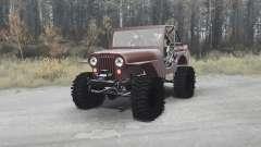 Jeep CJ-5 1954 for MudRunner