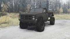 Chevrolet K5 Blazer M1008 for MudRunner
