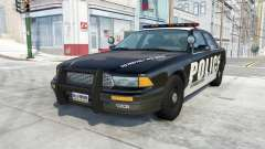 Gavril Grand Marshall Police Interceptor for BeamNG Drive