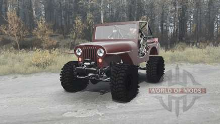 Jeep CJ-5 1954 for MudRunner