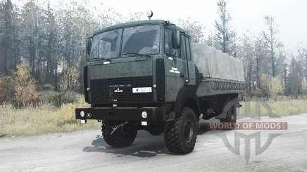 The MAZ-5316 for MudRunner