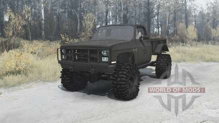 Chevrolet K5 Blazer M1008 for MudRunner