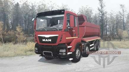 MAN TGS 41.400 for MudRunner