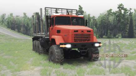 KrAZ 7140Н6 for Spin Tires