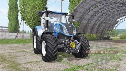New Holland T6.160 v1.1 for Farming Simulator 2017