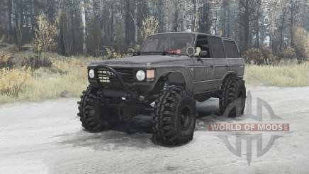 Toyota Land Cruiser 60 (HJ60V) 1980 for MudRunner