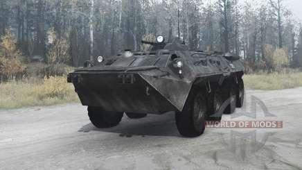 BTR-80 (GAZ 5903) for MudRunner
