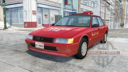 Ibishu Pessima Syrian Police for BeamNG Drive