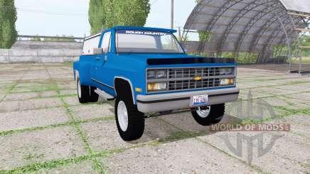 Chevrolet K30 1984 v1.1 for Farming Simulator 2017