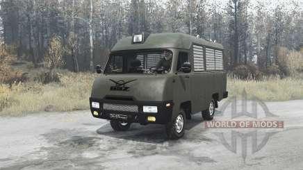UAZ 2925 for MudRunner