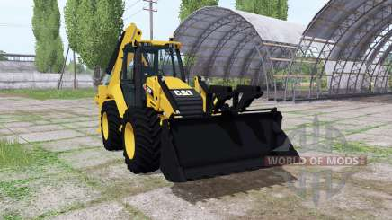Caterpillar 420F for Farming Simulator 2017
