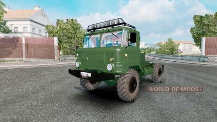 GAZ 66 for Euro Truck Simulator 2