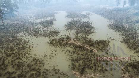 The force of the river for Spintires MudRunner