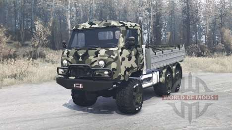 UAZ 452ДГ for Spintires MudRunner