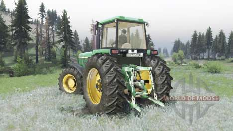 John Deere 4755 for Spin Tires