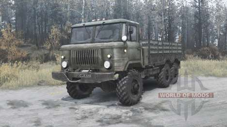 The GAS-34 experienced 1964 v2.0 for Spintires MudRunner