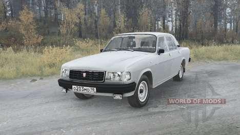 GAZ Volga (31029) 1991 v1.1 for Spintires MudRunner