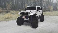 Jeep Wrangler Unlimited (JK) 2010 for MudRunner