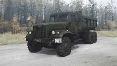 KrAZ 256 by Glushak for MudRunner