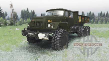 ZIL 131 Balda for Spin Tires