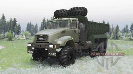 KrAZ 65032 2012 for Spin Tires