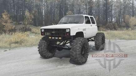 Chevrolet K30 crawler for MudRunner