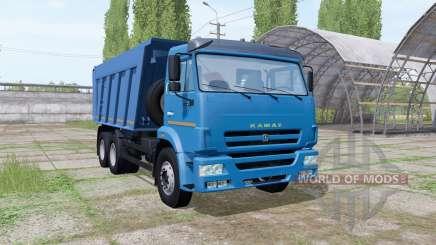 KAMAZ 6520 2009 for Farming Simulator 2017