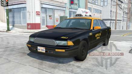 Gavril Grand Marshall Belasco Taxi for BeamNG Drive