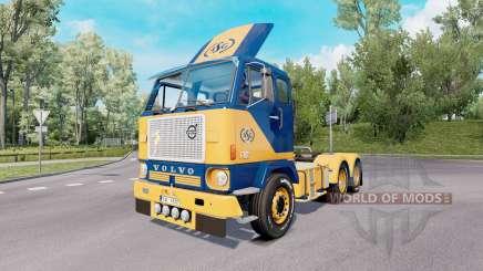 Volvo F88 6x4 tractor 1965 for Euro Truck Simulator 2