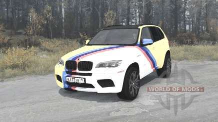 BMW X5 M (E70) Smotra Run 2013 for MudRunner