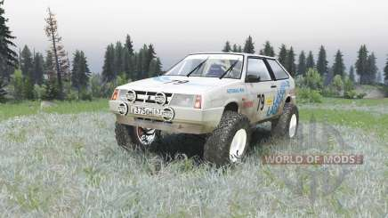 VAZ 2108 rally for Spin Tires
