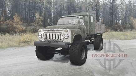 GAZ 52 4x4 for MudRunner