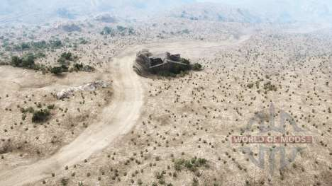 Martinez Canyon for Spintires MudRunner