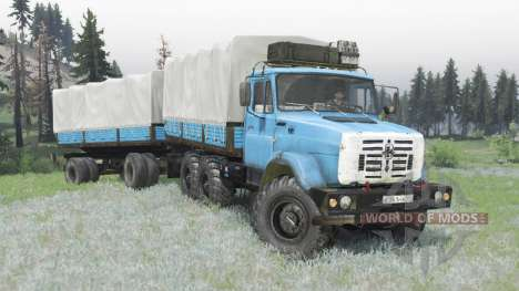 ZIL 4334 for Spin Tires