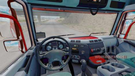 DAF CF85.480 6x4 Space Cab 2006 for American Truck Simulator
