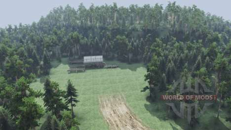 Forest adventure v1.1 for Spin Tires