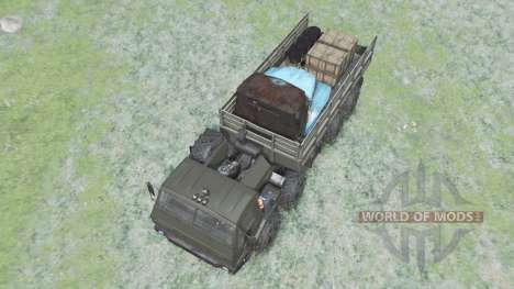 KrAZ Siberia 7Э6316 edit Sergo for Spin Tires