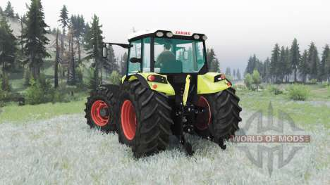CLAAS Axos 330 for Spin Tires