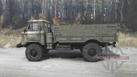 GAZ 66 for Spintires MudRunner